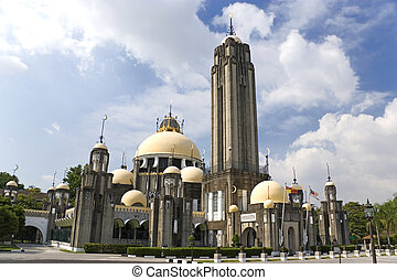 19th Century Mosque - Image of an old 19th century mosque in...