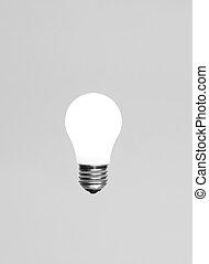 Single glowing light bulb - Singel glowing light bulb