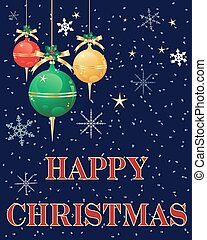 christmas greetings - a vector illustration in eps 10 format...