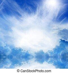 Heaven in sky