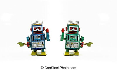 toys - retro robot toys
