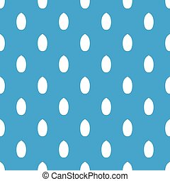 Pecan nut pattern seamless blue - Pecan nut pattern repeat...