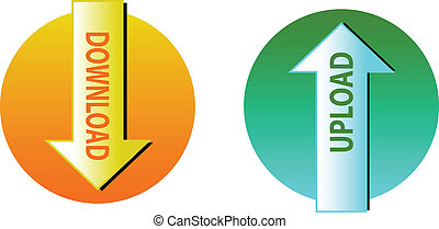 download and upload