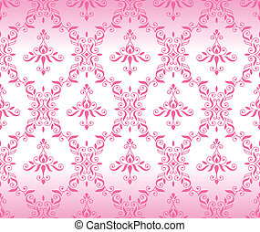 pink_wallpape - retro pink pattern jointless background