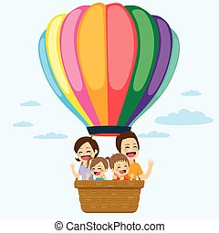 Family Hot Air Balloon
