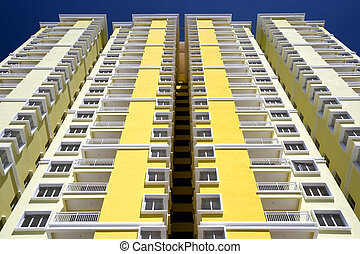 Modern Hi-Rise Apartments - Image of a new apartment for...