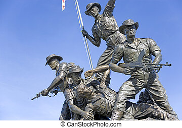 Heroes Monument - Malaysia's tribute to its fallen heroes in...