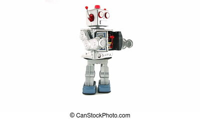 toy - retro robot toy