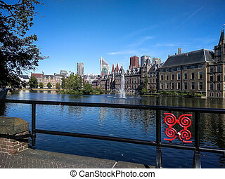 Binnenhof (Dutch Parliament), The Hague (Den Haag),...