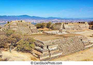 Temples in Monte Alban - Temples in the ancient city of...