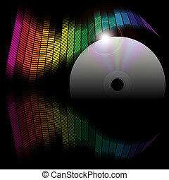 Abstract Background - Equalizer and