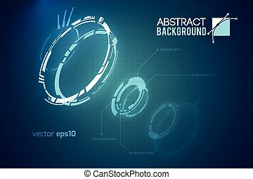 Futuristic Abstract Template - Futuristic abstract template...