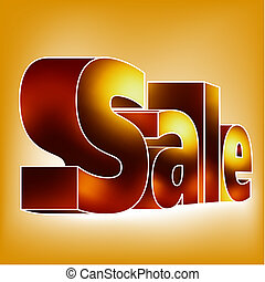 """SALE"" on the white-blue background. EPS 8 vector file..."