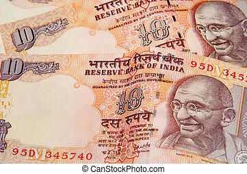 rupia, indiano