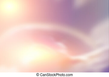 Abstract blurred background of pink sky concept