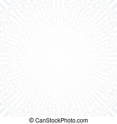 vector swastika ornament background - vector light grey...