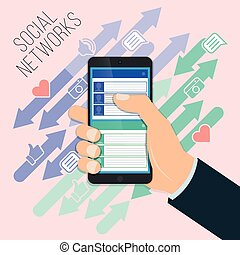 Mobile social networking, chat, chat, exchange photos and audio recordings, video messages. Discussions on social networks.