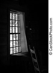 Old Time Window - This image reminds me of the simple days....