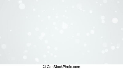 animation - abstract lights circle bokeh background. -...