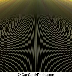 Dark ray light background design - vector graphic from lines...