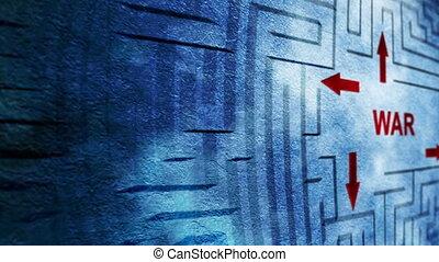 War maze concept
