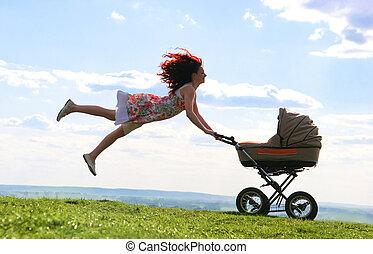 maternal, vuelo