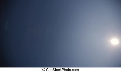 Guys fly across the sky in a dive crop concept about people,...