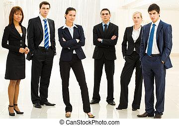 contemporáneo, empleados