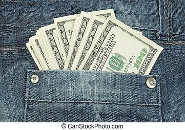 tasca, dollari