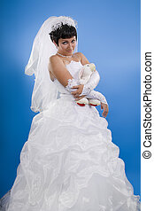 Beautiful Bridal Portraits - One happy and Beautiful bride...