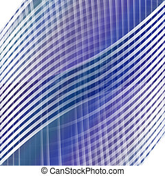Abstract modern background - artistic design from curved...