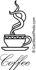 coffe symbol - vector illustration of coffee symbol