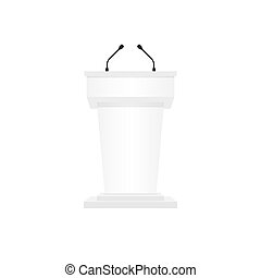 Pulpit podium