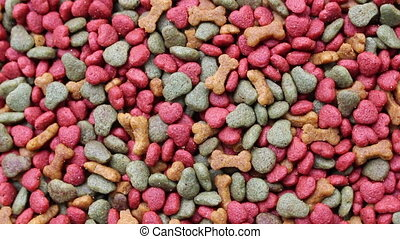 dog food and cat food background rotation