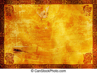 American Indian traditional patterns - Horizontal background...