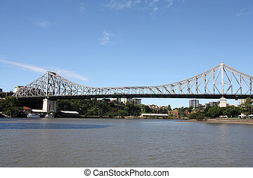 Brisbane - Story Bridge - Cantilever bridge - Story Bridge...