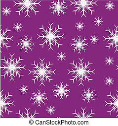 Mauve seamless snowflake background - An abstract mauve...