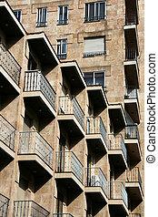 Apartment building in Spain