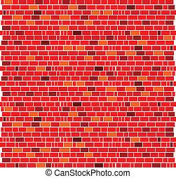 red brick wall bacground