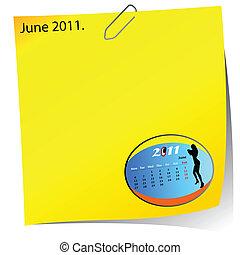 reminder of june 2011