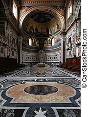 Rome cathedral - Rome, Italy - famous Papal Archbasilica of...
