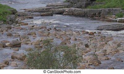Streaming River, Glen Etive, Scotland - Native Version -...