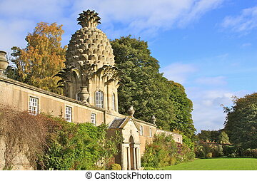 Pineapple House - Dunmore Pineapple House, Airth, Scotland....