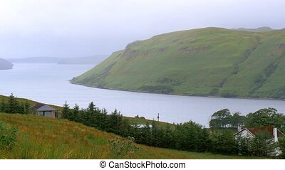 Isle Of Skye, Loch Harport, Scotland - Graded Version -...