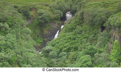 Waterfall At Rigg Viewpoint, Isle Of Skye, Scotland - Native...