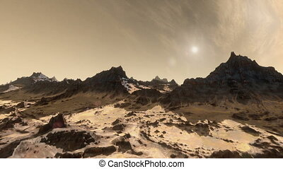 Mars Establishing Shot - High quality establishing shot of...