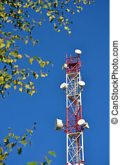 Mobile phone communication radio tv tower, mast, cell...