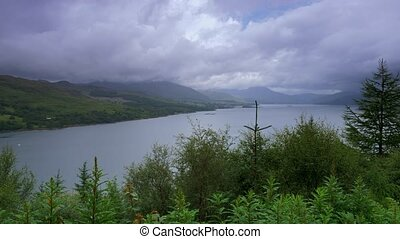 Stromeferry Viewpoint, Loch Carron, Scotland - Graded...