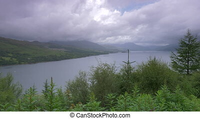 Stromeferry Viewpoint, Loch Carron, Scotland - Native...