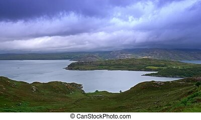 View On Loch Ewe, Poolewe, Scotland - Graded Version -...